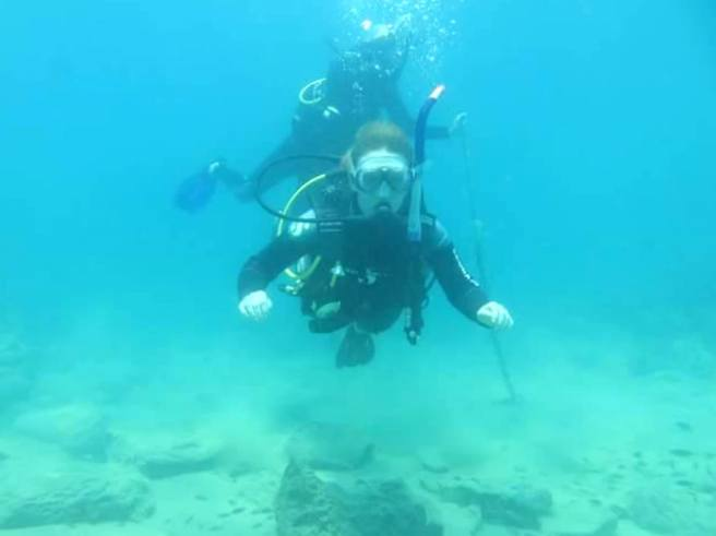 Diving in Cape Maclear
